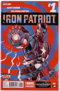 Iron Patriot   vol. 1   #  1 VF/NM (All-New Marvel Now)