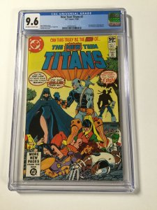 The New Teen Titans 2 Cgc 9.6 Ow/w Pages Dc Comics