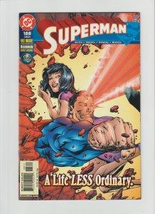 Superman 188 VF+ 8.5 (2003, DC) Aquaman Preview!