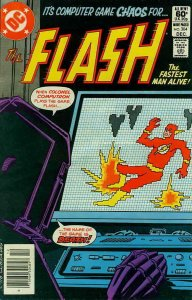 Flash, The (1st Series) #304 (Newsstand) FN; DC   save on shipping - details ins