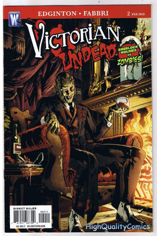 VICTORIAN UNDEAD #2, NM, Sherlock Holmes vs Zombies, 2010, more in store