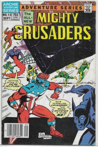 Mighty Crusaders   (Archie)   #13 GD/VG