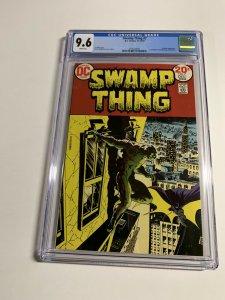 Swamp Thing 7 Cgc 9.6 White Pages Batman Apprarance Dc Comics Bronze