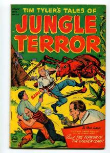 TIM TYLER'S TALES OF JUNGLE TERROR #54 1952-TIM TYLER-LYMAN YOUNG-FN-