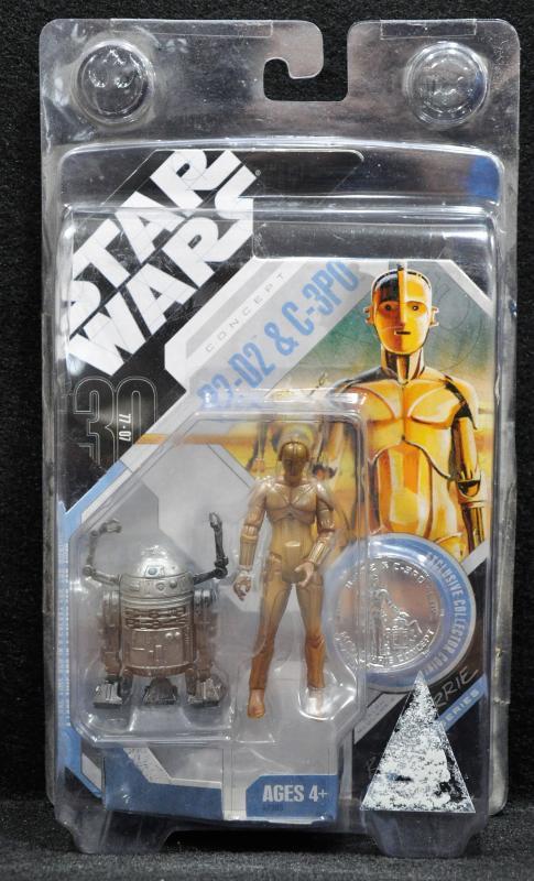 Concept R2-D2 and C-3PO Action Figure