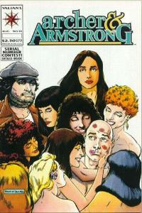 Archer & Armstrong (1992 series) #13, VF+ (Stock photo)