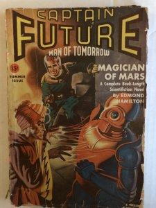 Captain Future..summer 1941 pulp fiction