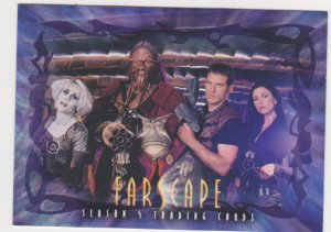 2003 Farscape Season 4 Trading Cards Promo #P1