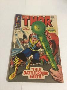 Thor 144 Vg+ Very Good+ 4.5 Marvel Comics Silver Age