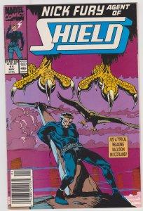 Nick Fury: Agent of Shield Vol 2 #11