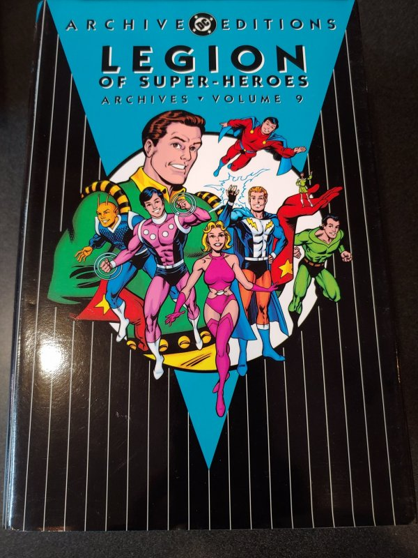​LEGION OF SUPER-HEROES ARCHIVES VOLUME 9 HARD COVER
