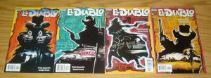 el Diablo #1-4 VF/NM complete series - vertigo comics - western brian azzarello