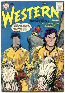 Western Comics #66 1957-POW WOW SMITH-NIGHT HAWK-Silver Age