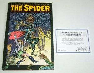 The Spider: Scavengers of the Slaughtered Sacrifices HC signed by Colan w/COA