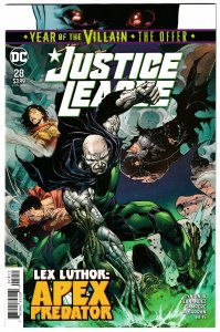 Justice League #28 Main Cvr | Lex Luthor (DC, 2019) NM