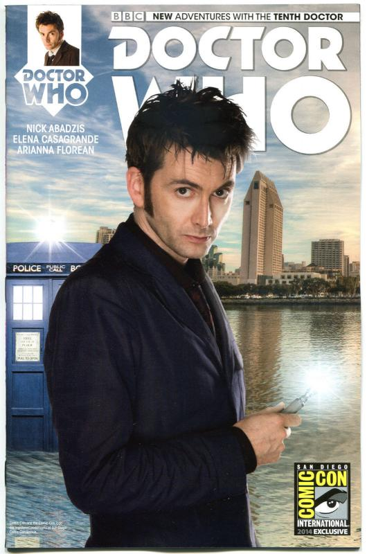 DOCTOR WHO #1, NM, 10th, Tardis, SDCC, 2014, Titan, Variant, more DW in store