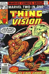Marvel Two-In-One (1974 series) #39, VG+ (Stock photo)
