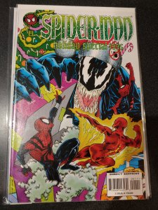 SPIDER-MAN HOLIDAY SPECIAL 1995 VENOM! EXTREMELY SCARCE