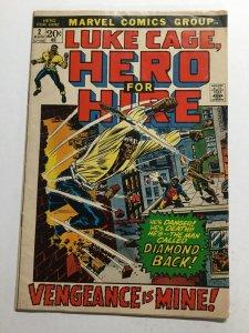 Luke Cage, Hero For Hire 2 Fine- Fn- 5.5 Marvel