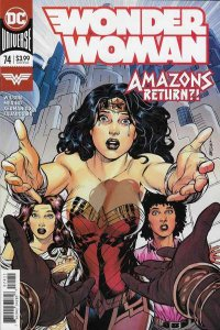 Wonder Woman (2016 series) #74, NM + (Stock photo)