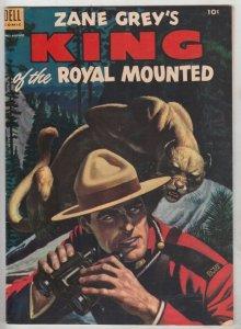 King of the Royal Mounted #12 (Jun-53) VF High-Grade King of the Royal Mounted