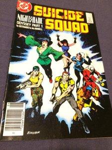 Suicide Squad #14 (1988) NM DC Comics Female Nightshade Odyssey