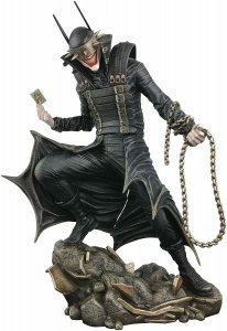 DC Gallery Batman Who Laughs Statues Dark Nights: Metal Diamond Select Toys NEW!