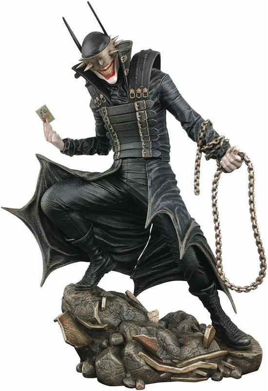 DC Gallery Batman Who Laughs Statues Dark Nights: Metal Diamond Select Toys NEW!