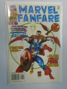 Marvel Fanfare #1 8.0 VF (1996 2nd Series)