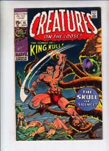 Creatures on the Loose #10 (Mar-71) NM- High-Grade King Kull