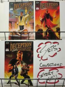 DECEPTION (1999 IMAGE) 1-3 (2.95 CVR) SPANGLER / PARKER