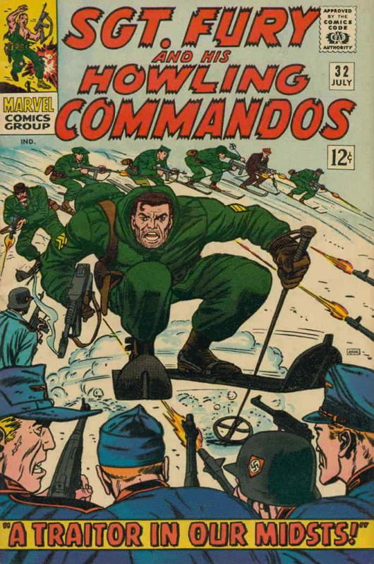 Sgt. Fury #32 VG; Marvel | low grade comic - save on shipping - details inside