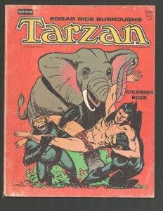 Tarzan Coloring Book #C1864 1977-Edgar Rice Burroughs-Russ Manning cover & ti...