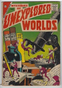 Mysteries of Unexplored Worlds, #9, Aug. 1958, Ditko Art