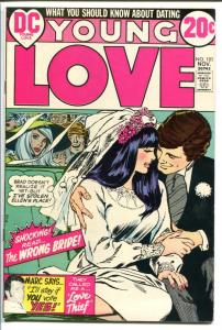 YOUNG LOVE #101-GREAT ISSUE-DC ROMANCE-BRIDE COVER FN