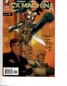 Lot Of 10 Wildstorm Comics Ex Machina 1 14 15 Eye Of The Storm 1 Smax +MOR J343