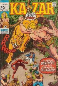 Ka-Zar (1970 series) #2, VF- (Stock photo)