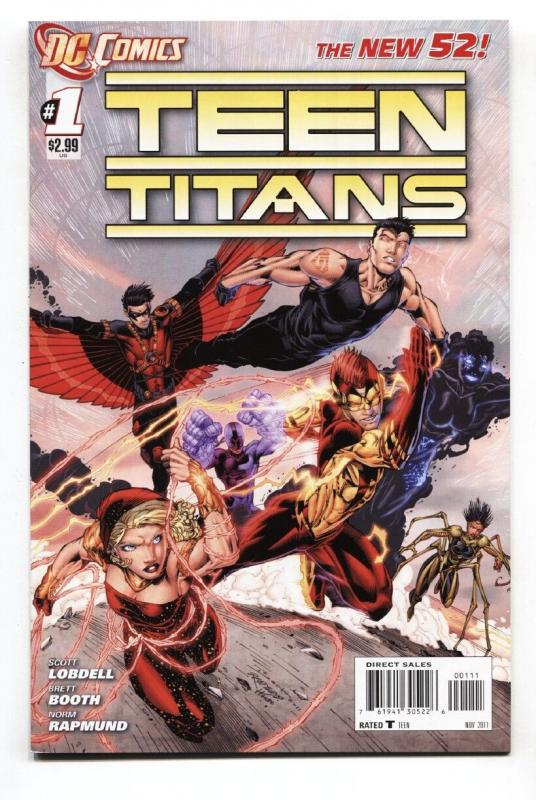 TEEN TITANS #1 2011-comic book-NEW 52-EARLY ISSUE NM-