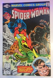 Spider-Woman #37 VF/NM Marvel Comics 1st Series (1981)