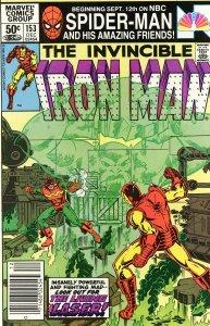 Iron Man 153  VF  1981  NEWSSTAND EDITION