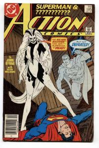 ACTION #595 comic book 1987-1st appearance SILVER BANSHEE Newsstand