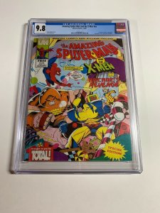 Amazing Spider-man And The X-men Arcade's Revenge Nn 1 Cgc 9.8 UK Nintendo Promo