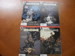 4 Near-Mint Dark Horse Comic WITCHFINDER #1 2 3 4 (2011) Lost Gone Service Angel