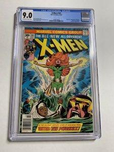Uncanny X-men 101 Cgc 9.0 Ow/w Pages 1st Phoenix Marvel Bronze Age