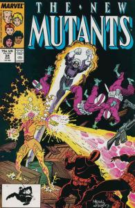 New Mutants, The #54 VF; Marvel | save on shipping - details inside