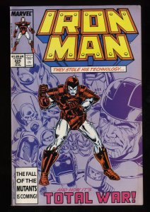 Iron Man #225 VF+ 8.5 1st Armor Wars!
