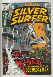 Silver Surfer #13 (Feb-70) FN/VF Mid-High-Grade Silver Surfer