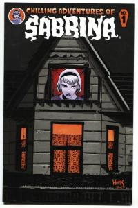 CHILLING ADVENTURES of SABRINA #1 2014-Die-Cut cover-Archie