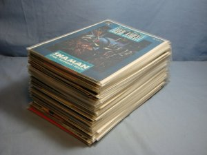 Batman Legends Of The Dark Knight (DC Comics 1989) BIG LOT 54 Books Issue Runs!!
