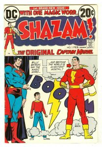 Shazam! 1   1st revival of Captain Marvel since Golden age